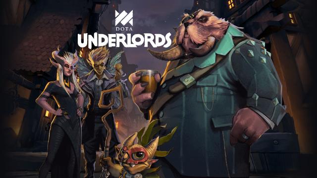 『Dota Underlords』Steam、iOS、AndroidのクロスプラットフォームでプレイできるValve版のオートチェスが登場!