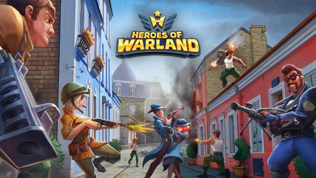 『Heroes of Warland』最高に激しいバトルが繰り広げられる、オンラインPvPヒーローFPS、リリース開始!