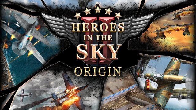 『Heroes in the Sky Origin: HIS』HISオンラインがモバイルで帰ってきた!本格飛行シューティングアクション、配信開始!