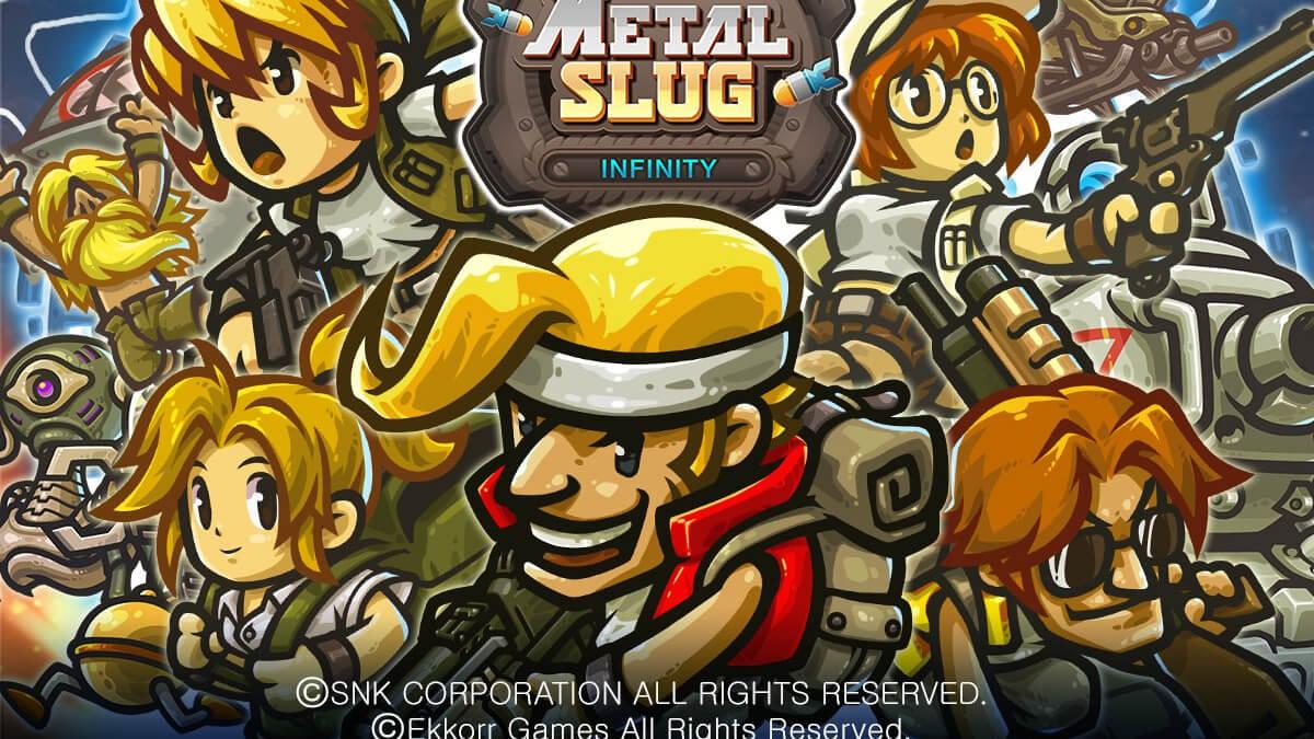 『メタルスラッグインフィニティ』原作の爽快な打撃感と繊細な演出を再現!「METALSLUG」が放置系RPGでカムバック!