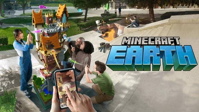 『Minecraft Earth【マインクラフト アース】』現実世界でクラフトできるマインクラフトアース、早期アクセス版の国内配信が開始!