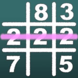 数字マルバツ IQパズルで脳トレ