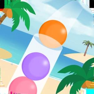 Sort puzzle on the beach~リラックス出来るボールパズル~